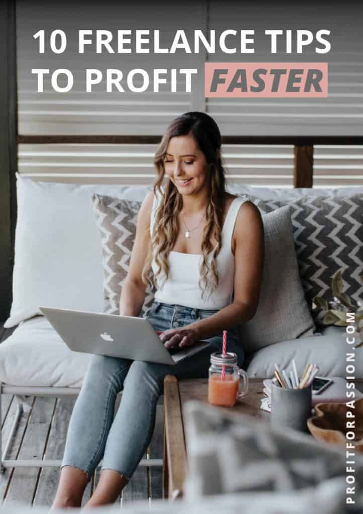 Freelance Tips to Profit Faster