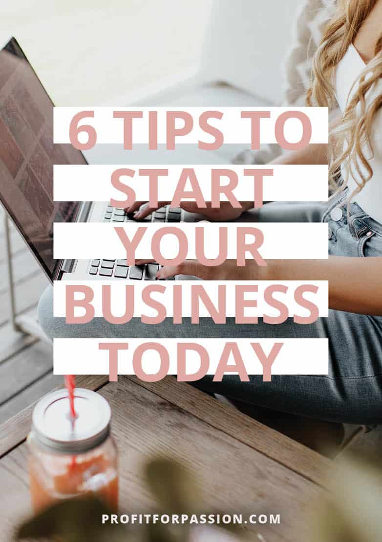 6 Tips to Start a business