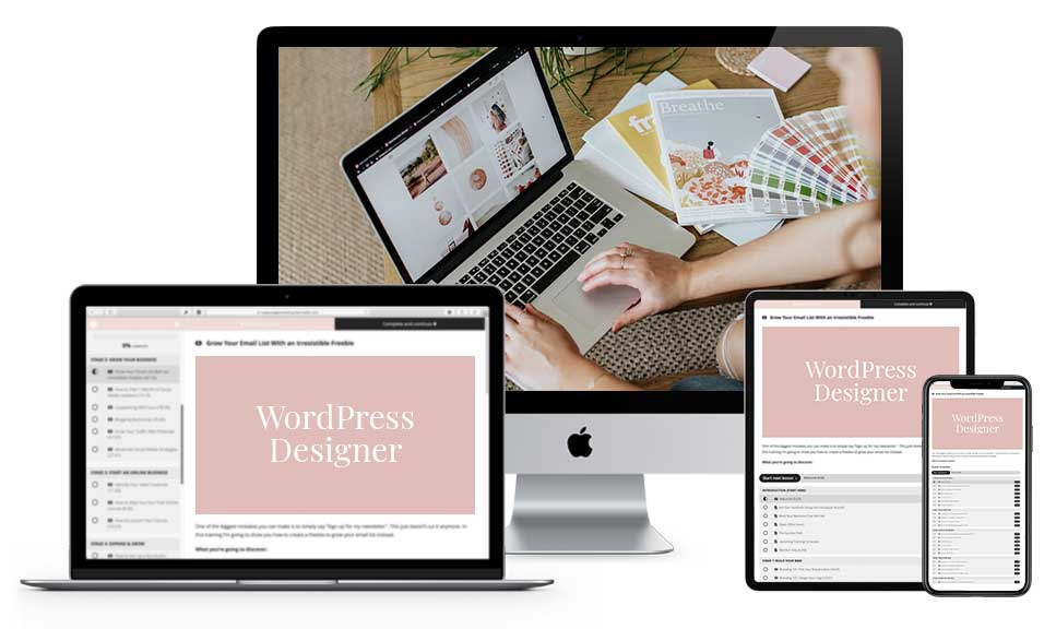 WordPress Design Course